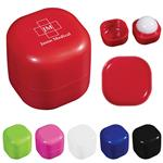 Custom Printed Square Lip Balm Cube SPF 15
