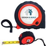 Custom 30 Foot Tape Measure with Full Color Logo Contractor Quality