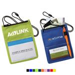 Trade Show Badge Holder with Pen Holder