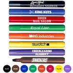 Custom Wide Tip Permanent Markers, Promotional Permanent Marker with Chisel Tip