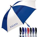 WindPro Vented Golf Umbrella Custom Printed.  ShedRain brand promotional umbrella.