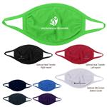 Youth 2-Ply Cotton Face Masks with Custom Logo or Blank in Bulk