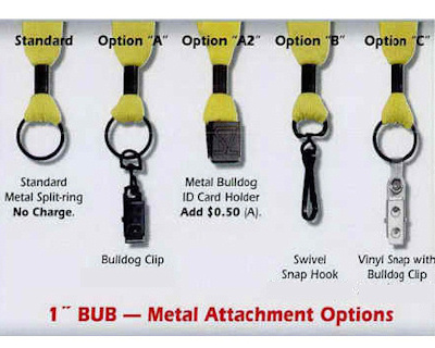 Lanyard Attachments Metal Crimp 1