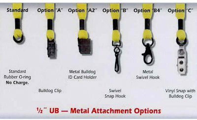 Lanyard Attment Options - Metal
