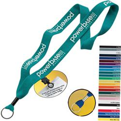 """1"""" Custom Knitted Cotton Lanyards"""