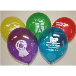 """11"""" Latex Custom Balloons Biodegradeable"""