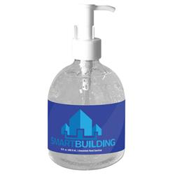 15 oz Pump Hand Sanitizer Made in USA Fill and full color custom label in bulk