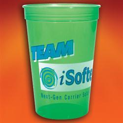 16 oz. Jewel Translucent Stadium Cups