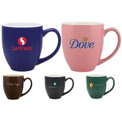 2-Tone 15 oz Bistro Custom Mugs