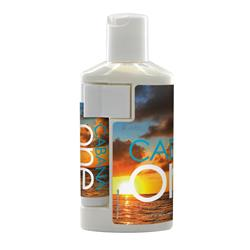 2oz Duo Bottle with SPF 30 Sunscreen and SPF 15 Lip Balm in White Tube