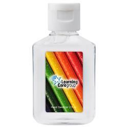 2 oz Custom Full Color Hand Sanitizer Bottles For Sale