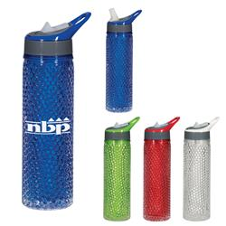 20 Oz. Tritan™ Gel Bead Sports Bottle customized with your logo by Adco Marketing