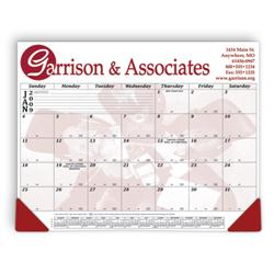 "21 3/4"" x 16 3/4"" 12 Month Calendar Desk Pad"