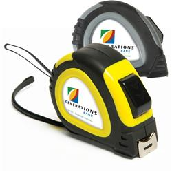 25' foot locking tape measure domed decal