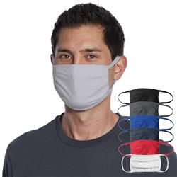 Blank Face Masks Multi Layered Blank Cotton