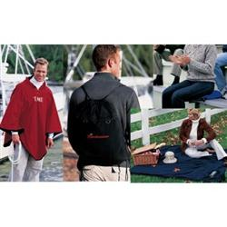 4-IN-1 Blanket - Poncho/Seat Cushion - Backpack