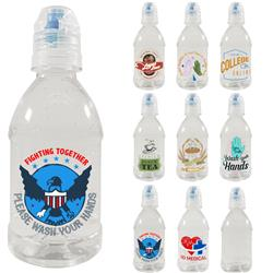 8 oz Made in USA Hand Sanitizers with Custom Full Color Label at 500 or more