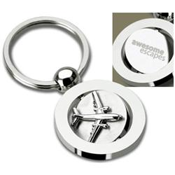 Airplane Spinner Key Chains