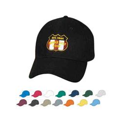 Bargain Structured Cotton Twill Embroidered Cap