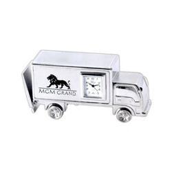Bobtail Truck Desk Clocks Laser Engraved