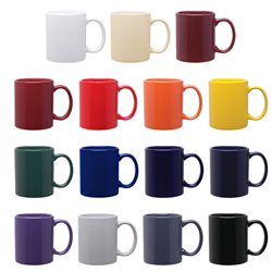 11 oz C Handle Sale Mugs