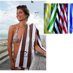 "Cabana Custom Beach Towels 35"" x 60"" 15 lbs/doz"