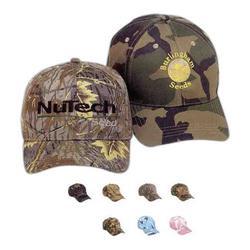 Camouflage Cotton Caps