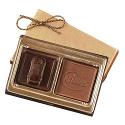 Chocolate Custom 2 Piece Box