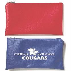 Corydon Imitation Leather Custom Zippered Bank Bags