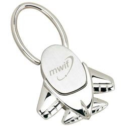 Custom Airplane Twist Lock Key Tags