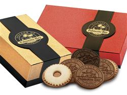 Custom Chocolate Cookie Gift Box - 6 pieces