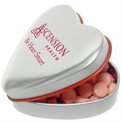 Custom Heart Mint Tins