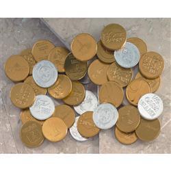 Custom Lincoln Chocolate Coins