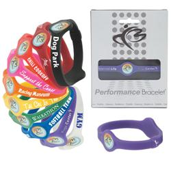 Custom Performance Silicone Bracelets and Power Bands