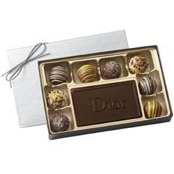Custom Chocolate Truffle Gift Box - 9 Piece