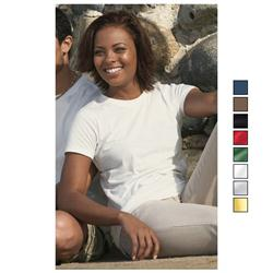 District Threads Ladies 100% Organic Cotton Perfect Weight