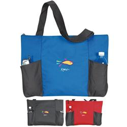 Double Pocket Tote Bags