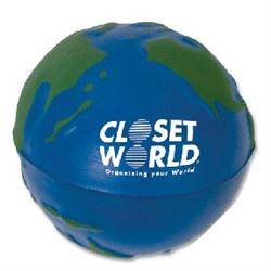 Earth Stress Balls and Globe Stress Relievers