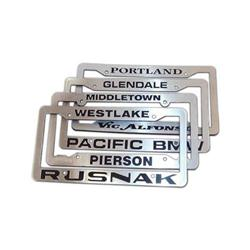 Edge FX  Custom License Plate Frames