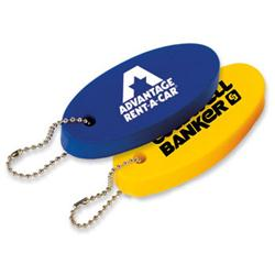 Floating Oval Key Tag Stress Relievers