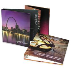 "Full Color Custom Binders - 1-1/2"" Ring Size"