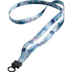 """1/2"""" Full Color Custom Dye-Sublimated Polyester Lanyards"""