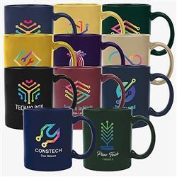 Full Color Custom Printed Promotional Ceramic Mugs 11 oz