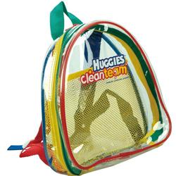 Half Moon Clear Custom Kids Backpack