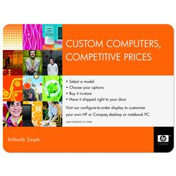 "Large Custom Mouse Pads 8"" x 9.5"" x 1/16"" with hard surface and full color imprint"