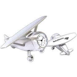 High Wing Airplane Custom Clock