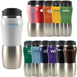 Maui Fusion 14 oz. Promotional Tumblers, Custom Travel Mugs