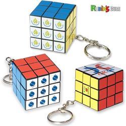 Micro Rubik's® Cube Key Holder Keychain