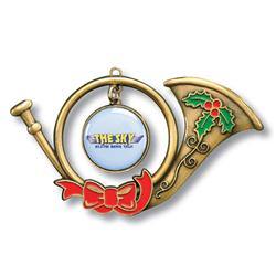 Custom French Horn Ornament by Adco Marketing