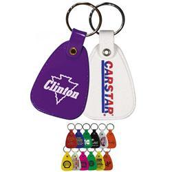 Plastic Western Saddle Key Tags